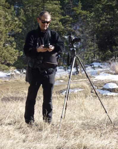Dave Butcher at the Flatirons Boulder
