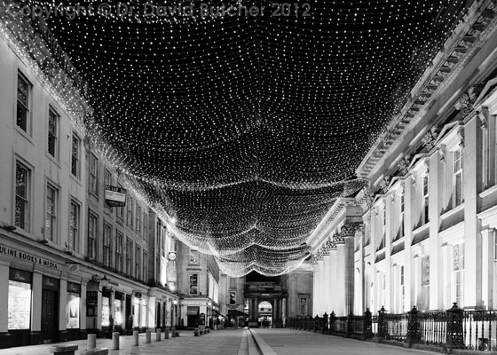 Glasgow Royal Exchange Square Christmas Lights