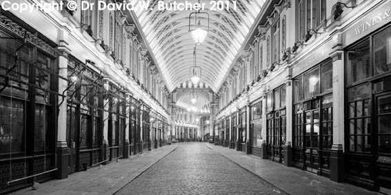 Leadenhall Market at Night
