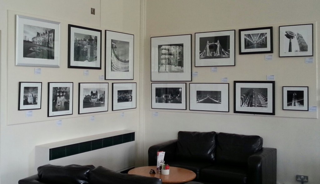City Light exhibition Buxton Art Cafe 2014