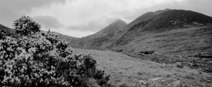 Carrauntoohil from Hags Glen