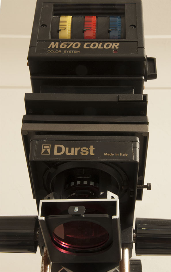Durst 670 Enlarger Head Low