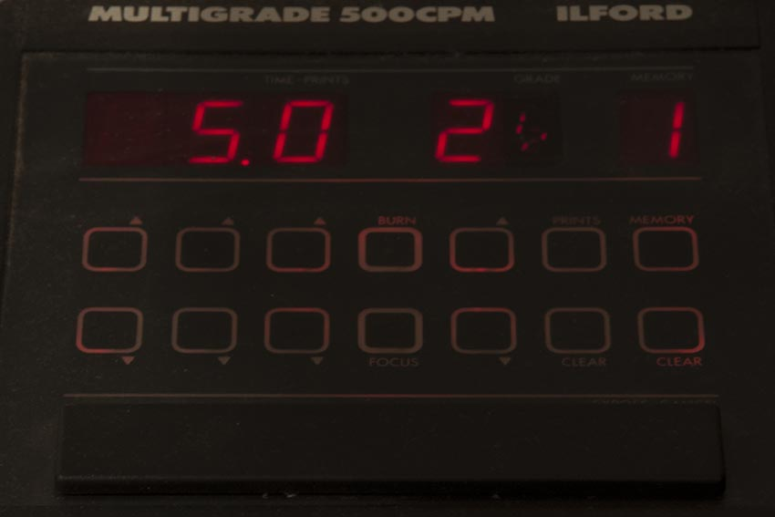 Ilford 500CPM Enlarger Timer
