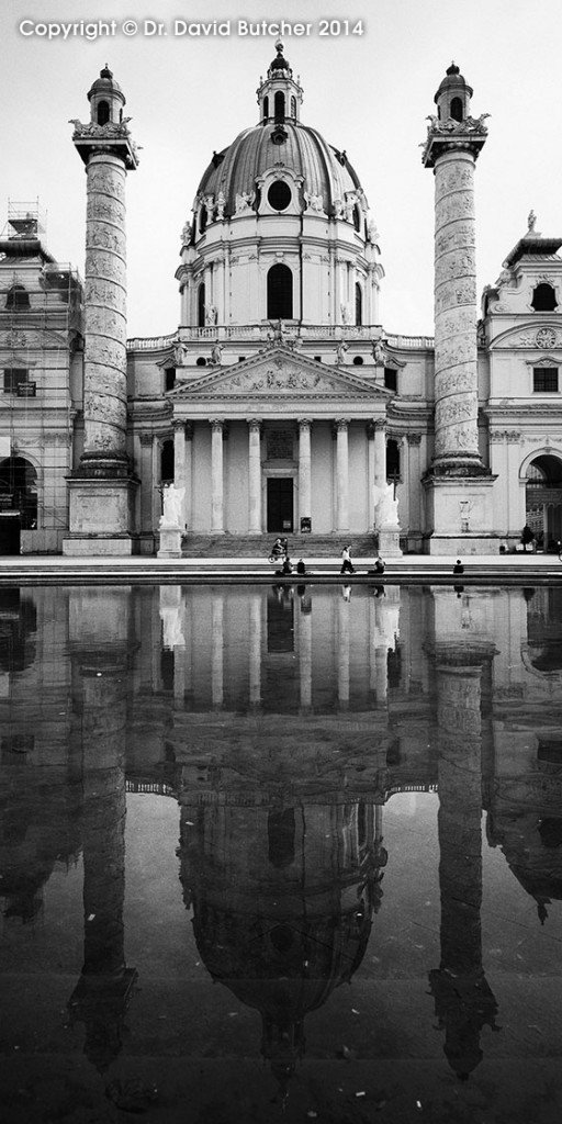 Vienna Karlskirche Reflections